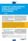 Approaches to Unaccompanied Minors Following Status Determination in the EU plus Norway (2017)