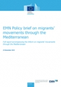 EMN Policy Brief on Migrants' Movements through the Mediterranean (2015)